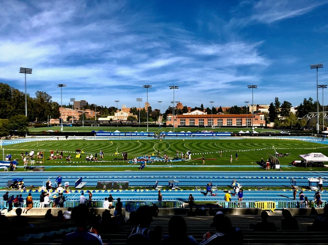 this image shows the UCLA Campus